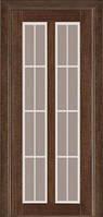 Межкомнатные двери Дверь межкомнатная модель 117 (глухая/остекленная) венге Terminus