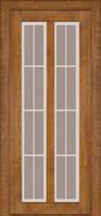 Межкомнатные двери Дверь межкомнатная модель 117 (глухая/остекленная) дуб тонированный Terminus