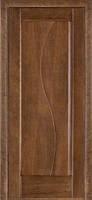 Межкомнатные двери Дверь межкомнатная модель 16 (глухая/остекленная) дуб браун Terminus