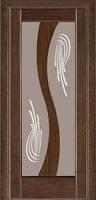 Межкомнатные двери Дверь межкомнатная модель 15 (глухая/остекленная) венге Terminus