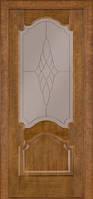 Межкомнатные двери Дверь межкомнатная модель 08 (глухая/остекленная) дуб тонированный Terminus
