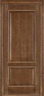 Межкомнатные двери Дверь межкомнатная модель 04 (глухая/остекленная) дуб браун Terminus