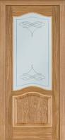 Межкомнатные двери Дверь межкомнатная модель 03 (глухая/остекленная) дуб светлый Terminus