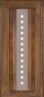 Межкомнатные двери Дверь межкомнатная модель 175 (глухая/остекленная) дуб браун Terminus