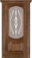 Дверь межкомнатная модель 41 (глухая/остекленная) дуб браун Terminus