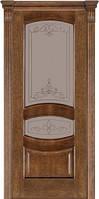 Дверь межкомнатная модель 50 (глухая/остекленная) дуб браун Terminus