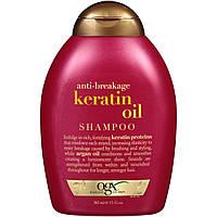 Шампунь OGX® против ломкости волосс кератиновым маслом, 385 мл. Сделано в США., фото 1