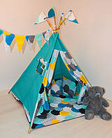 Детский игровой вигвам, палатка, шатер, фото 1