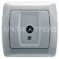 VIKO Розетка tv (телевиз.) (Серебро) 93010010