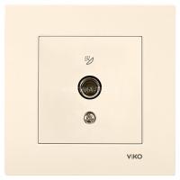 VIKO Розетка TV 20 DB (концевая) (Крем) 90960109