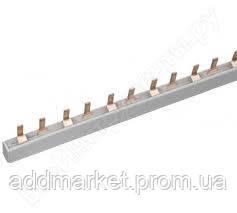 Шина з`єднувального типу PIN (штирь) 2Р 63А (дл.1м)