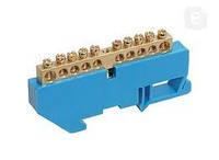 Шина нульова на DIN-ізоляторі ШНИ-6х9х12-Д-С