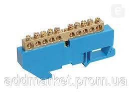 Шина нульова на DIN-ізоляторі ШНИ-8х12-8-Д-С
