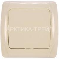 VIKO Выключатель 1 скр. (крем) 90562001