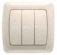 VIKO Выключатель 3 скр. (крем) 90562068