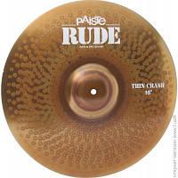 Тарелка Paiste RUDE Thin Crash 16