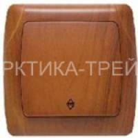 VIKO Выключатель 1 скр. (Красное Дерево) 93010801