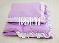 Дитяча ковдра (синтепух) + подушка в подарунок