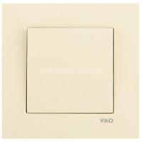 VIKO Выключатель 1 скр. (Крем) 90960101