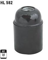 HL582 патрон карболитовый для лампочки E27