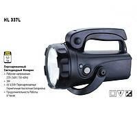 HL337L 1 LED светильник аккумуляторный, фонарик