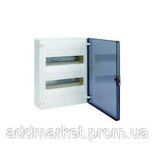 Щит н / у с прозрачными дверцами, 24 модулі (2х12), GOLF