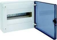 Щит зовнішнього встановлення з прозорими дверцятами, 12 модулів (1х12), GOLF