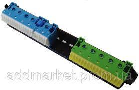 Утримувач з клемами PE/N: 21xN+20xPE / 5xN+6xPE
