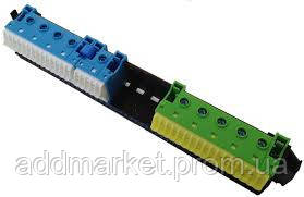 Утримувач з клемами PE/N: 19xN+17xPE / 5xN+5xPE
