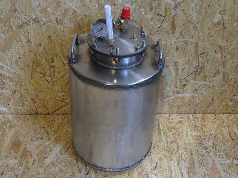 Автоклав для домашнего консервирования 10 литровых (или 24 пол литровых)Нержавейка