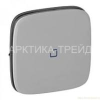 LEGRAND Клавиша выключателя с подсвеской/индикацией Алюминий, Valena ALLURE 755087