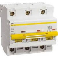 Автоматичний вимикач ВА47-100 3Р 32А 10кА х-ка D