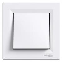 SCHNEIDER Переключатель 1-клавишный перекрестный, Белый, Asfora EPH0500121