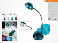 HL010L лампа настольная, светодиодная, белая(синяя,красная,черная)