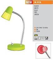 HL013L лампа настольная, светодиодная, зеленая