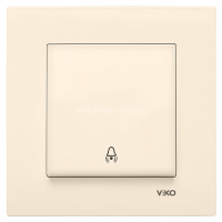VIKO Кнопка звонка KARRE 90970006-WH