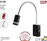 HL008L 1х3W SMD LED Светильник-Подсветка для зеркал/картин, белый(красный,черный)
