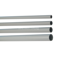 Труба ПВХ жесткая гладкая д.50мм, усиленная, 3м, серый цвет