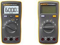 107 FLUKE Цифровой мультиметр. Переменный и постоянный ток до 10 А, Проверка диодов, Частота