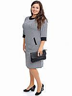 Платье женское, ткань трикотаж размеры с 54го до 60го