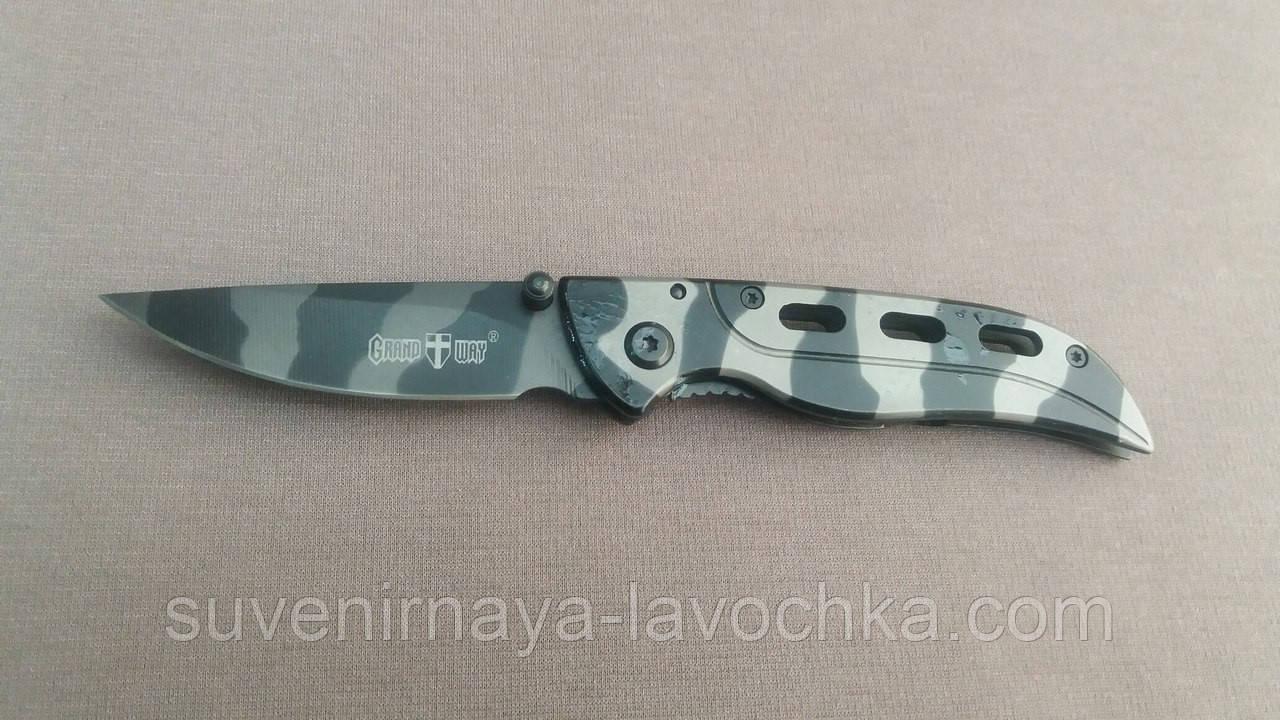 Нож складной 5001 камуфлированный