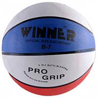 Баскетбольный мяч Winner TRICOLOR №7