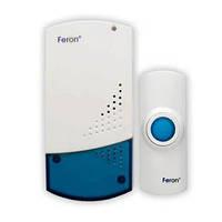 Звонок беспроводной FERON розеточный H-138-E, 220V, 32 мелодии, влагозащитный