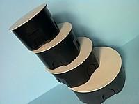 Коробка распределительна з кришкою (d 80)
