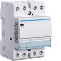 Контактор модульний 40A ESC440 (4НО, 230В) 3м Hager