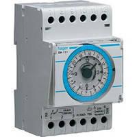 Таймер аналоговий, добовий, 16А, 1 перекидний контакт, запас ходу 200 ч., 3 м