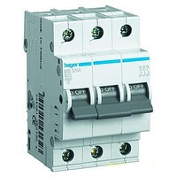 Автоматичний вимикач In=63 А, 3п, С, 6 kA, 3м