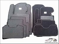 Коврики в салон автомобиля Mitsubishi/Lancer X с огнетуш.АКП 2007- текстильные, модельные.