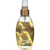 Кератиновое масло OGX® против ломкости и для восстановления волос, фото 1