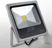Светодиодный прожектор LED 20 W SLIM Luminous CooL White 6000K 1800 LM